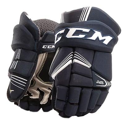 Navy (CCM Tacks 5092 Ice Hockey Gloves - Junior)