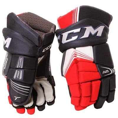 Tacks 5092 Gloves (2017) - Front View (CCM Tacks 5092 Ice Hockey Gloves - Senior)