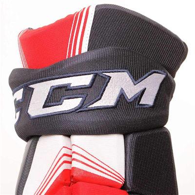 Tacks 5092 Gloves (2017) - Cuff View (CCM Tacks 5092 Ice Hockey Gloves - Senior)