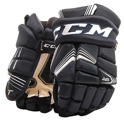 Navy (CCM Tacks 7092 Hockey Gloves - Junior)