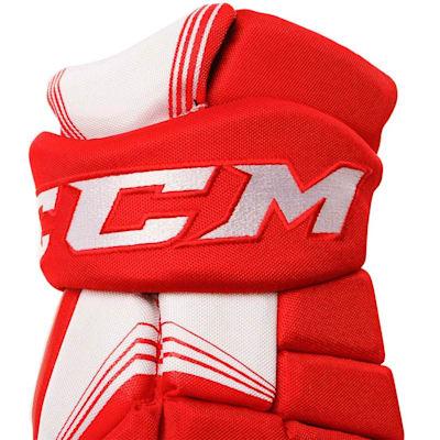 Tacks 7092 Gloves (2017) - Cuff View (CCM Tacks 7092 Hockey Gloves - Senior)