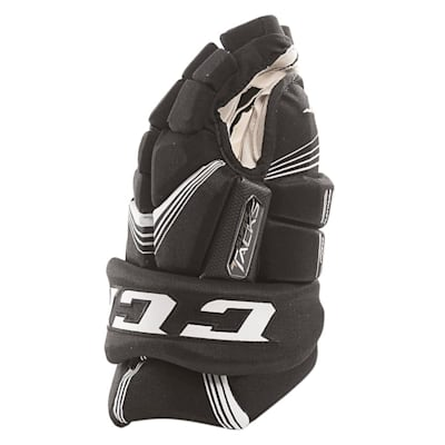 Super Tacks Gloves (2017) - Side View (CCM Super Tacks Hockey Gloves - Senior)
