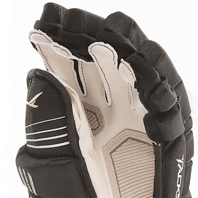 Super Tacks Gloves (2017) - Palm View (CCM Super Tacks Hockey Gloves - Senior)