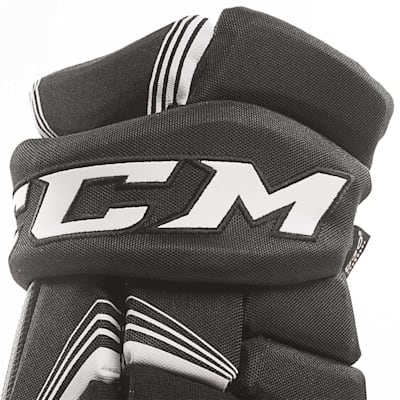 Super Tacks Gloves (2017) - Cuff View (CCM Super Tacks Hockey Gloves - Senior)