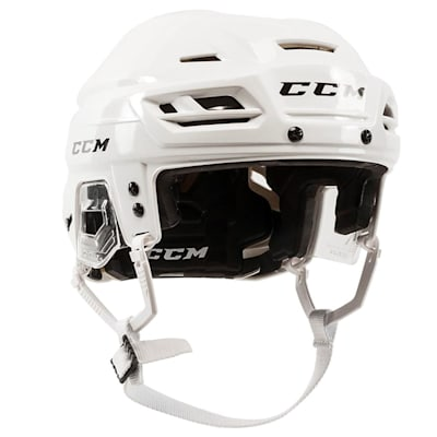 White (CCM Tacks 310 Hockey Helmet)