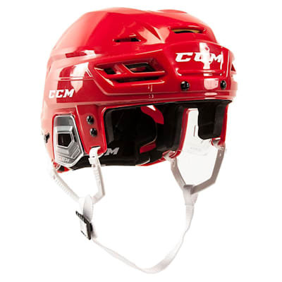 Red (CCM Tacks 310 Hockey Helmet)