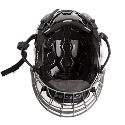 (CCM Tacks 310 Hockey Helmet Combo)