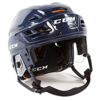 Navy (CCM Tacks 710 Hockey Helmet)