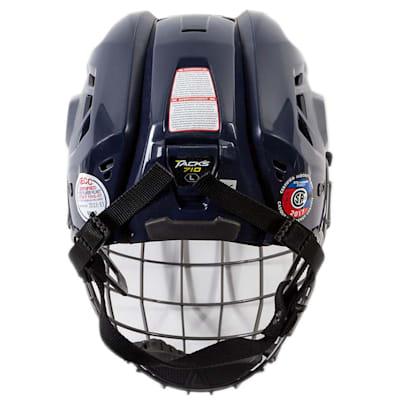 (CCM Tacks 710 Hockey Helmet Combo)