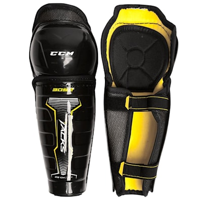 Tacks 3092 Shin Guard (Youth) - Front/Inside View (CCM Tacks 3092 Hockey Shin Guards - Youth)