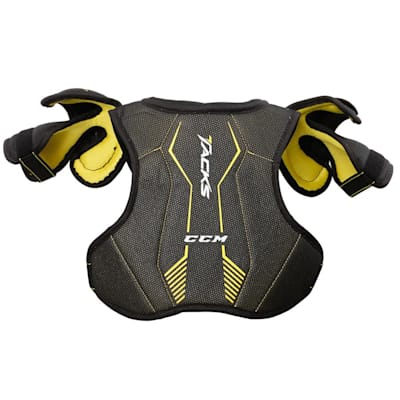 Tacks 3092 Shoulder Pads (Yth) - Back (CCM Tacks 3092 Hockey Shoulder Pads - Youth)