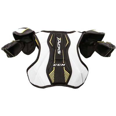 Super Tacks Shoulder Pad (Yth) - Back (CCM Super Tacks Hockey Shoulder Pads - Youth)