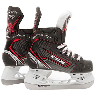 (CCM Jetspeed FT1 Ice Hockey Skates - Youth)