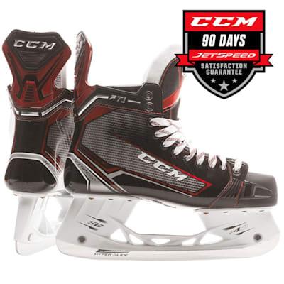 CCM Jetspeed FT1 Junior Ice Hockey Skate (CCM Jetspeed FT1 Ice Hockey Skates - Junior)