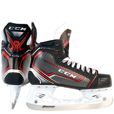 (CCM Jetspeed FT370 Ice Hockey Skates - Junior)