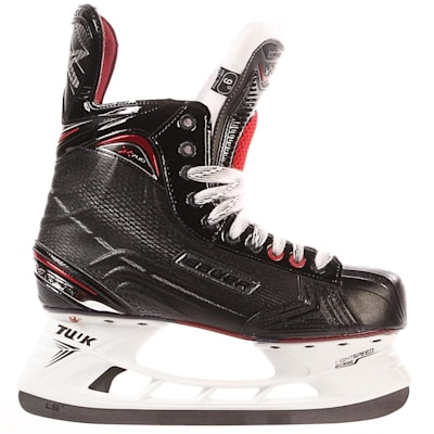 S17 Vapor X700 Ice Skate - Side View (Bauer Vapor X700 Ice Hockey Skates - 2017 - Junior)