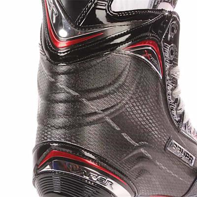S17 Vapor X700 Ice Skate - Heel Close up (Bauer Vapor X700 Ice Hockey Skate - 2017 - Senior)