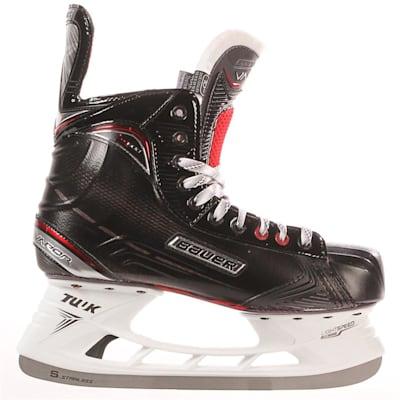 S17 Vapor X600 Ice Skate - Side View (Bauer Vapor X600 Ice Hockey Skates - 2017 - Senior)