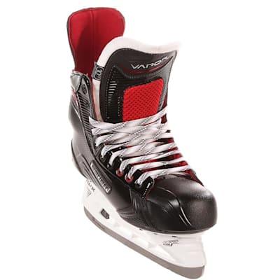 S17 Vapor X600 Ice Skate - Front Angle (Bauer Vapor X600 Ice Hockey Skates - 2017 - Senior)