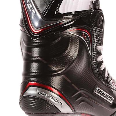 S17 Vapor X600 Ice Skate - Heel Close up (Bauer Vapor X600 Ice Hockey Skates - 2017 - Senior)