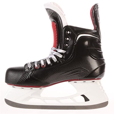 S17 Vapor X500 Ice Skate - Side View (Bauer Vapor X500 Ice Hockey Skates - 2017 - Junior)