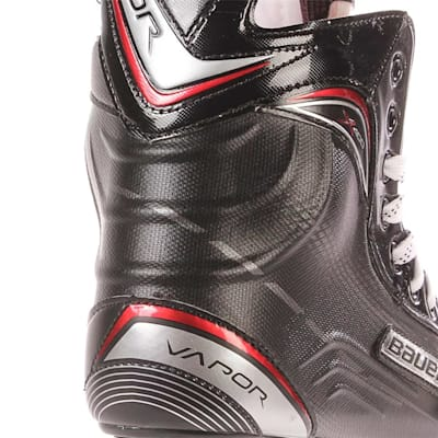 S17 Vapor X400 Ice Skate - Heel Close up (Bauer Vapor X400 Ice Hockey Skates - 2017 - Junior)