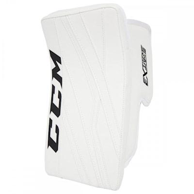 White/White (CCM Extreme Flex III Goalie Blocker - Senior)