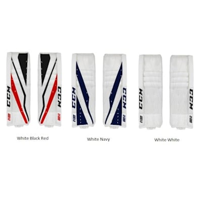 Color Chart (CCM Extreme Flex E3.5 Hockey Goalie Leg Pads - Senior)