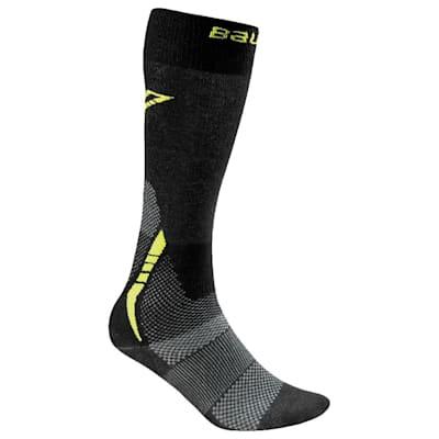 Bauer S17 Premium Tall Skate Sock (Bauer Premium Tall Hockey Skate Sock - 2017)