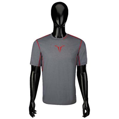 Bauer Core Hybrid Top (Bauer Core Short Sleeve Hybrid Hockey Shirt - 2017 - Youth)