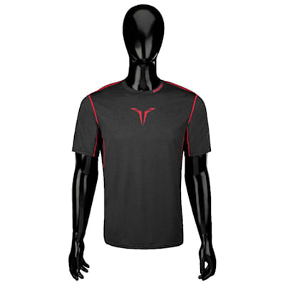 Bauer Core Hybrid Top (Bauer Core Short Sleeve Hybrid Hockey Shirt - 2017 - Adult)