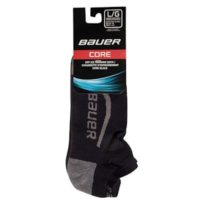 (Bauer Core Low Cut Hockey Socks - 2017 - Adult)