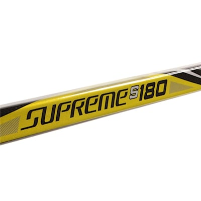 Supreme S180 Grip Stick 2017 (Bauer Supreme S180 Grip Composite Hockey Stick 2017 - Junior)