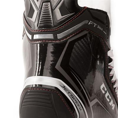 Right Skate Outside Angle (CCM Jetspeed FT365 Ice Hockey Skates - Senior)