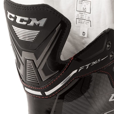 Rear Tongue Shot (CCM Jetspeed FT365 Ice Hockey Skates - Senior)
