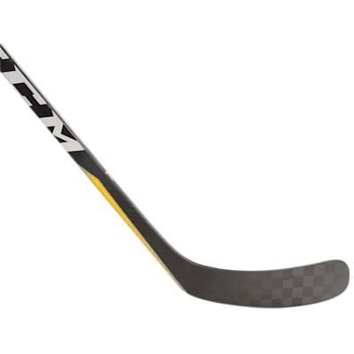 Super Tacks 2.0 Grip Comp Stick (CCM Super Tacks 2.0 Grip Composite Hockey Stick - Junior)