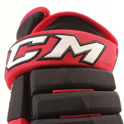 4R Lite Gloves (2017) - Cuff View (CCM 4R Lite Hockey Gloves - Junior)