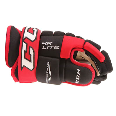 4R Lite Gloves (2017) - Side View (CCM 4R Lite Hockey Gloves - Senior)