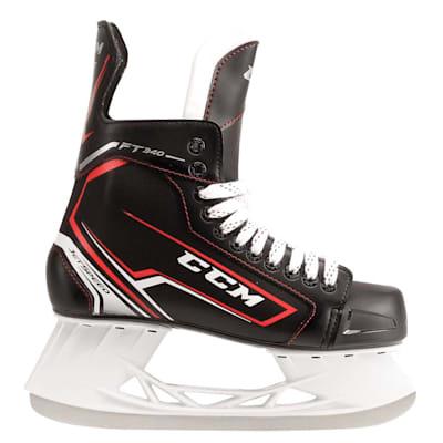 Jetspeed FT340 Ice Skate 2017 - Side View (CCM JetSpeed FT340 Ice Hockey Skates - Youth)