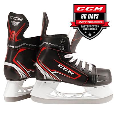(CCM JetSpeed FT340 Ice Hockey Skates - Youth)