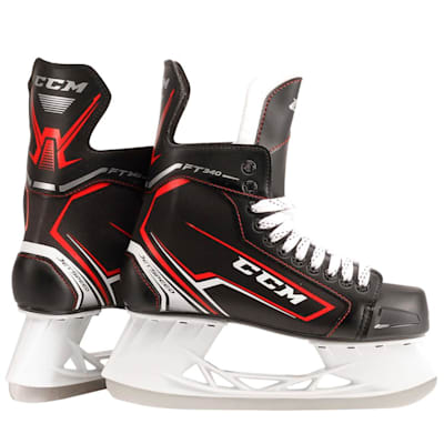 Jetspeed FT340 Ice Skate 2017 (CCM JetSpeed FT340 Ice Hockey Skates - Junior)