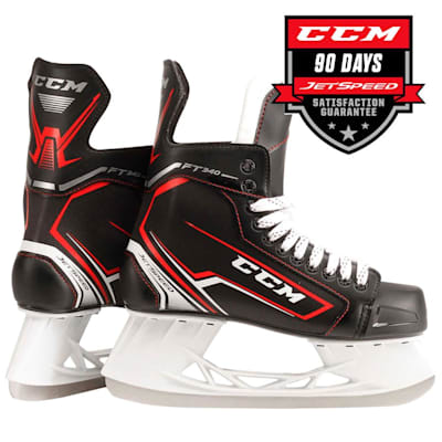 (CCM JetSpeed FT340 Ice Hockey Skates - Junior)