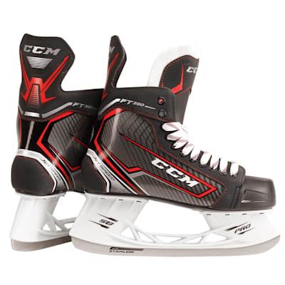 (CCM JetSpeed FT350 Ice Hockey Skates - Junior)