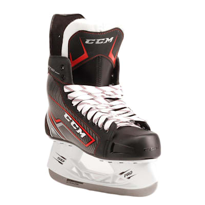 Jetspeed FT350 Ice Skate 2017 - Front Angle (CCM JetSpeed FT350 Ice Hockey Skates - Senior)