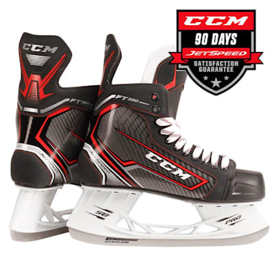 Jetspeed FT350 Ice Skate 2017 (CCM JetSpeed FT350 Ice Hockey Skates - Senior)