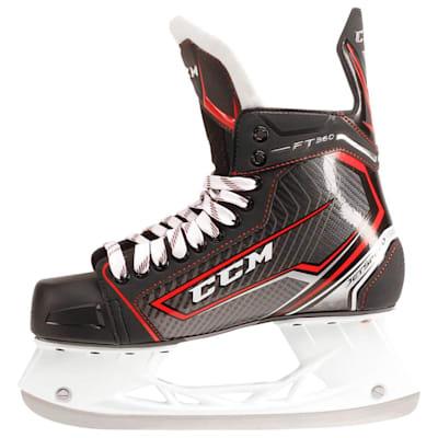 Jetspeed FT360 Ice Skate 2017 - Side View (CCM JetSpeed FT360 Ice Hockey Skates - Junior)