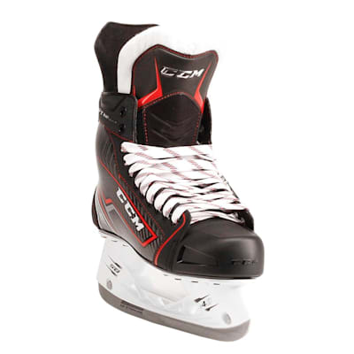 Jetspeed FT360 Ice Skate 2017 - Front Angle (CCM JetSpeed FT360 Ice Hockey Skates - Junior)