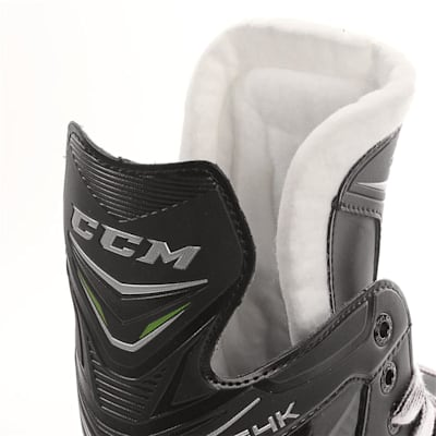 Ribcor 64K Ice Skate 2017 - Tongue View (CCM Ribcor 64K Ice Hockey Skates - Junior)