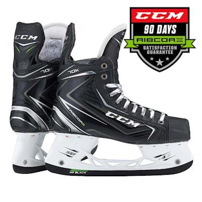 (CCM Ribcor 70K Ice Hockey Skates - Junior)