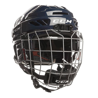 Navy (CCM Fitlite 3DS Youth Hockey Helmet Combo - Youth)